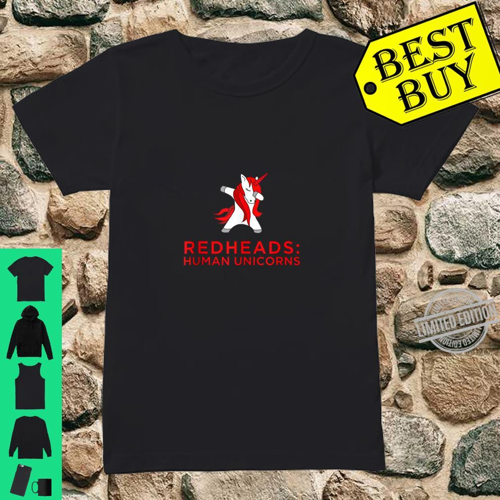 Redhead Trouble Ginger Shirt ladies tee