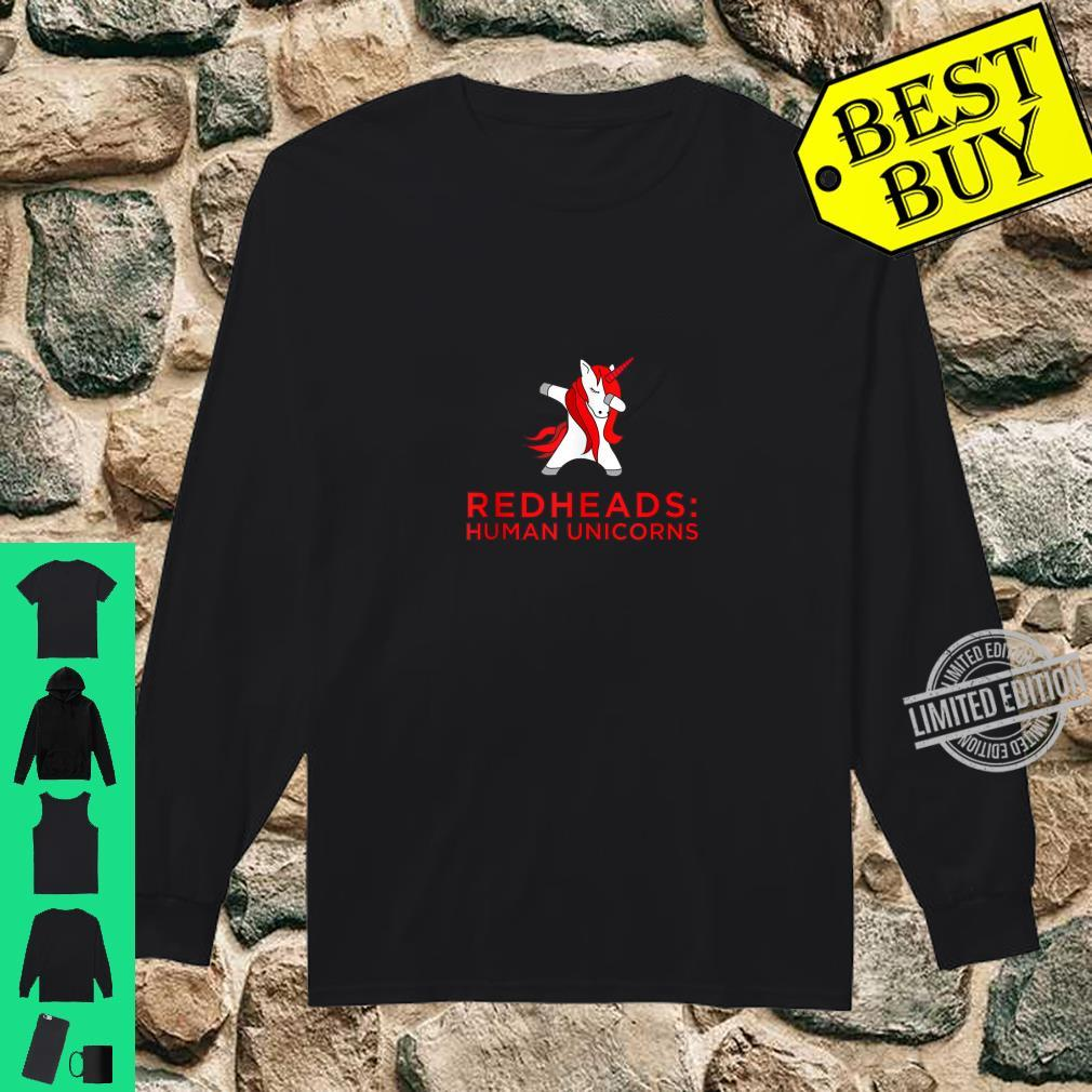 Redhead Trouble Ginger Shirt long sleeved