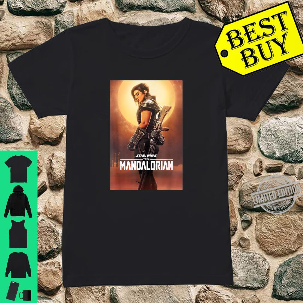 Star Wars The Mandalorian Cara Dune Poster T-Shirt